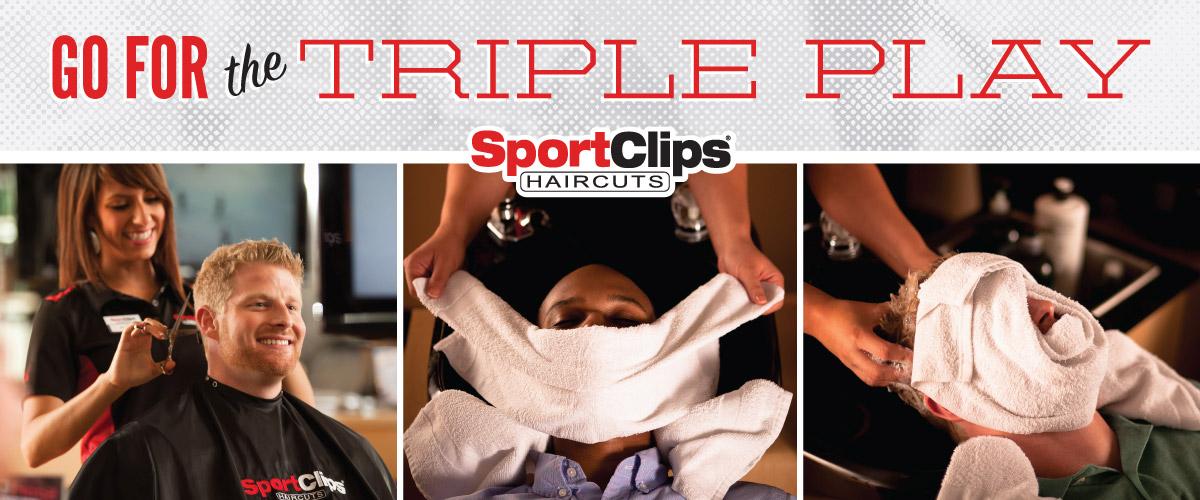 The Sport Clips Haircuts of La Habra Triple Play